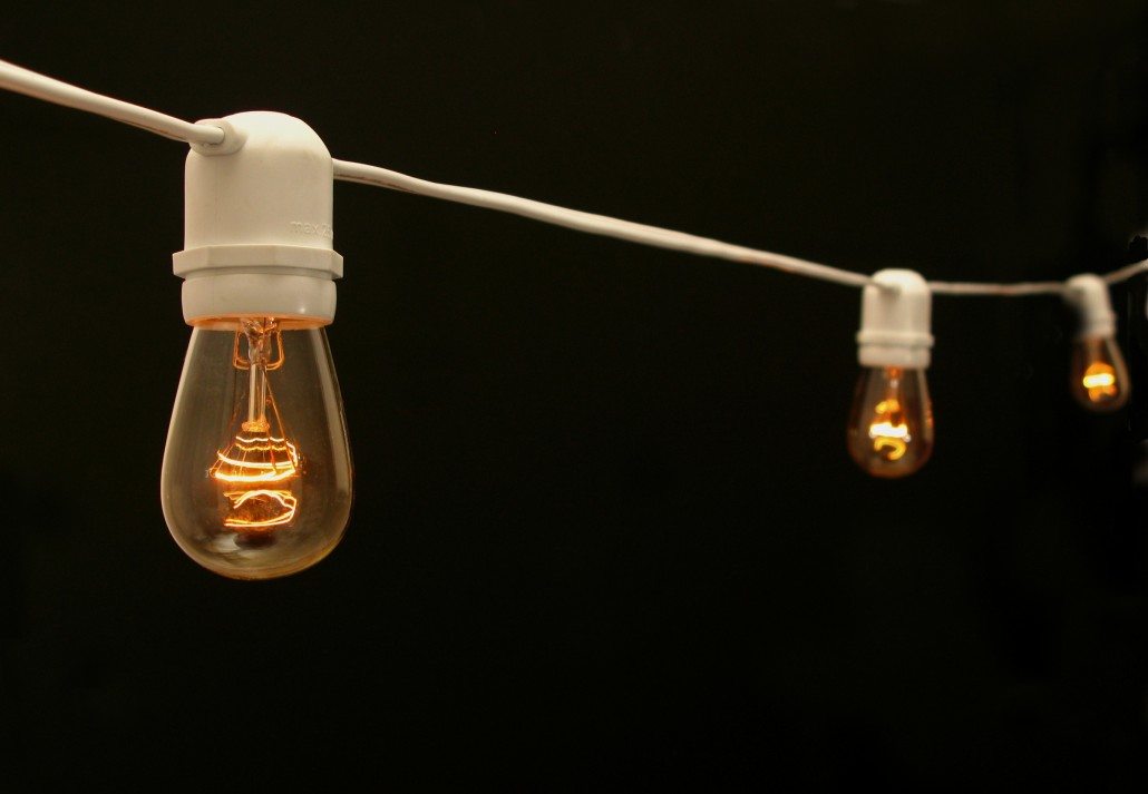 Cafe Lighting Tentwares Heavy Duty