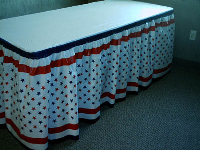 Disposable Kwik Covers Tentwares Table Covers